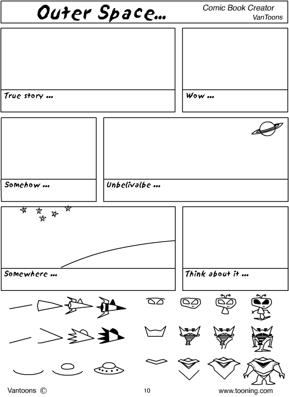 cartooning worksheet